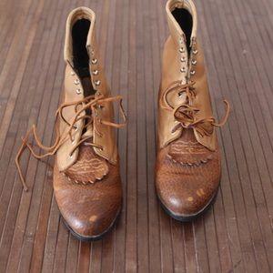 Vintage Ariat Ropers men's 8.5 women's 10 leather